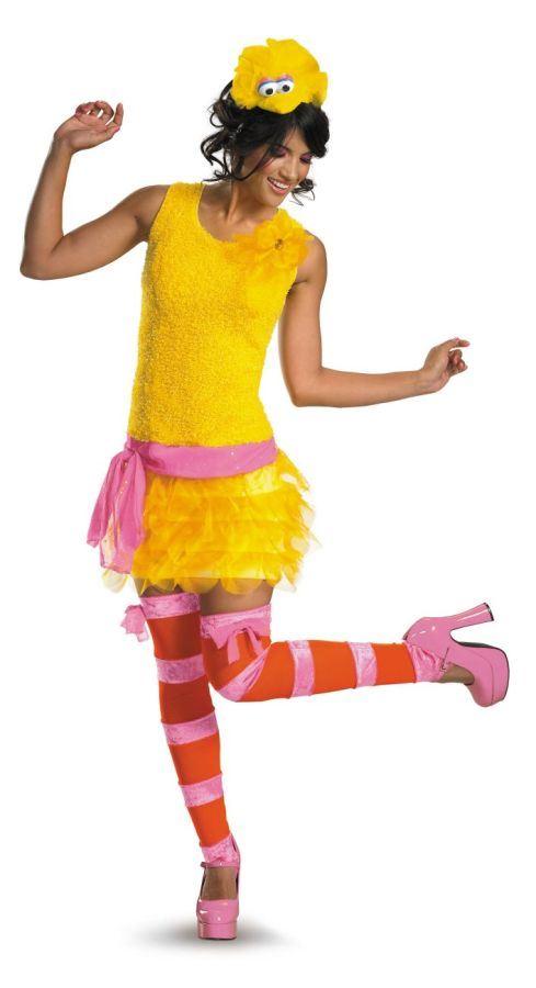 adult big bird sassy costume