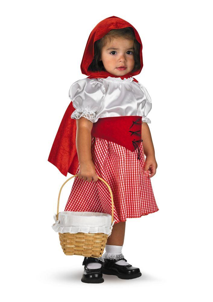 19cf7c9fdf5 Kids Little Red Riding Hood Toddler Costume