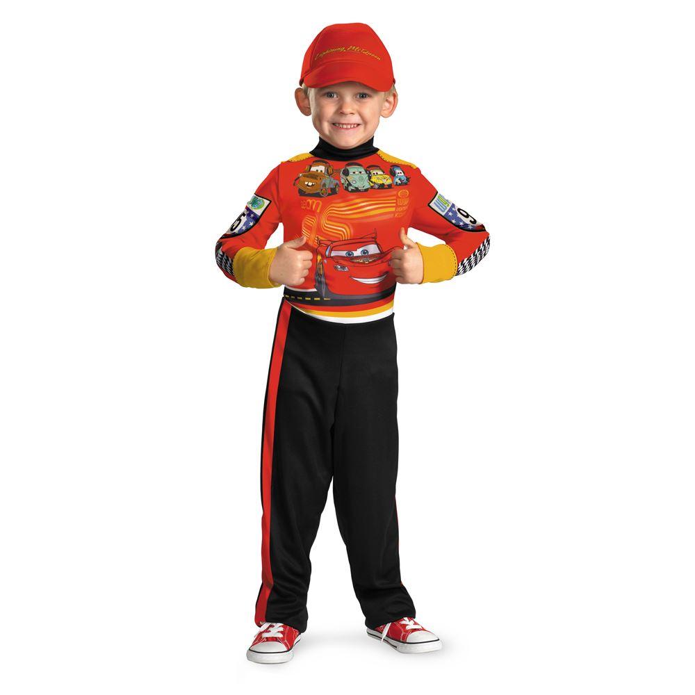kids cars ii lightning mcqueen pit crew classic boys costume