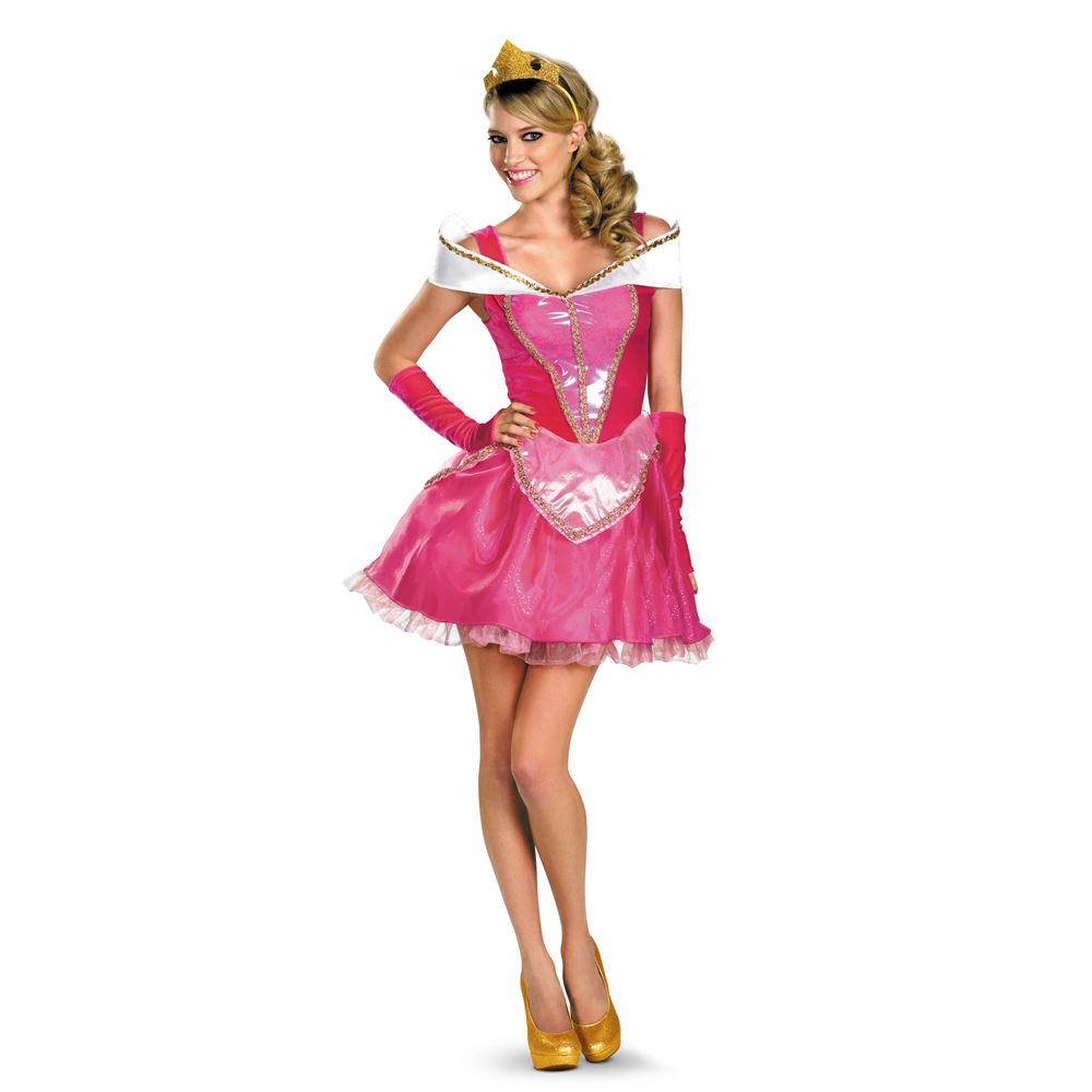 Adult Disney Princess Aurora Woman Costume | $37.99 | The Costume Land