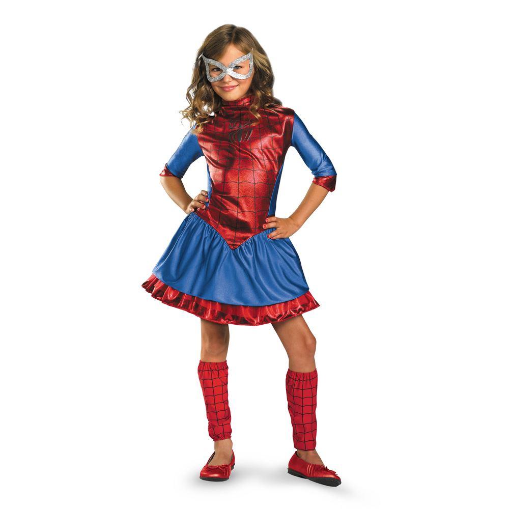 Kids crawler little spider girl costume the costume land - Costume halloween fille ...