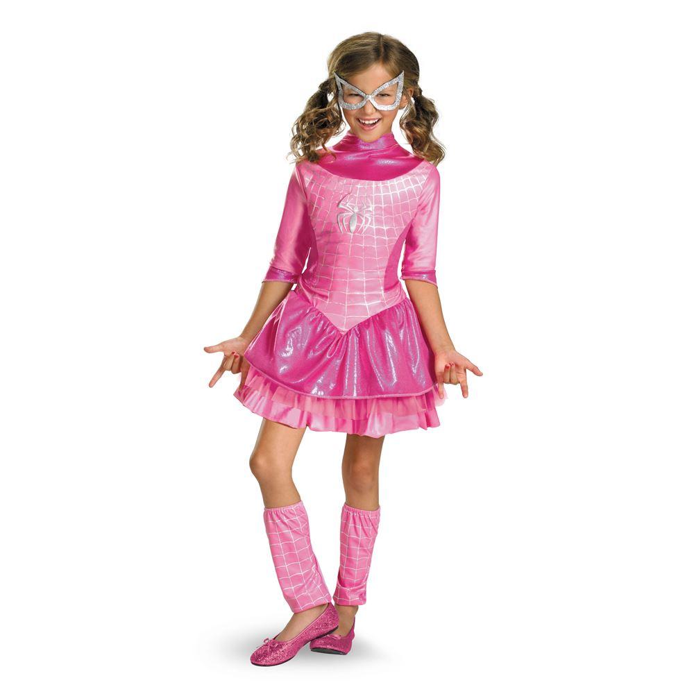 spider girl pink girls costume - Spider Girl Halloween Costumes