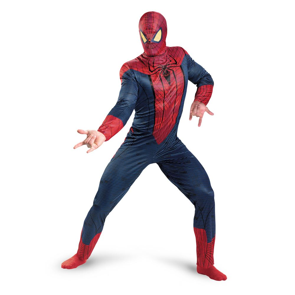 adult the amazing spider man movie costume men