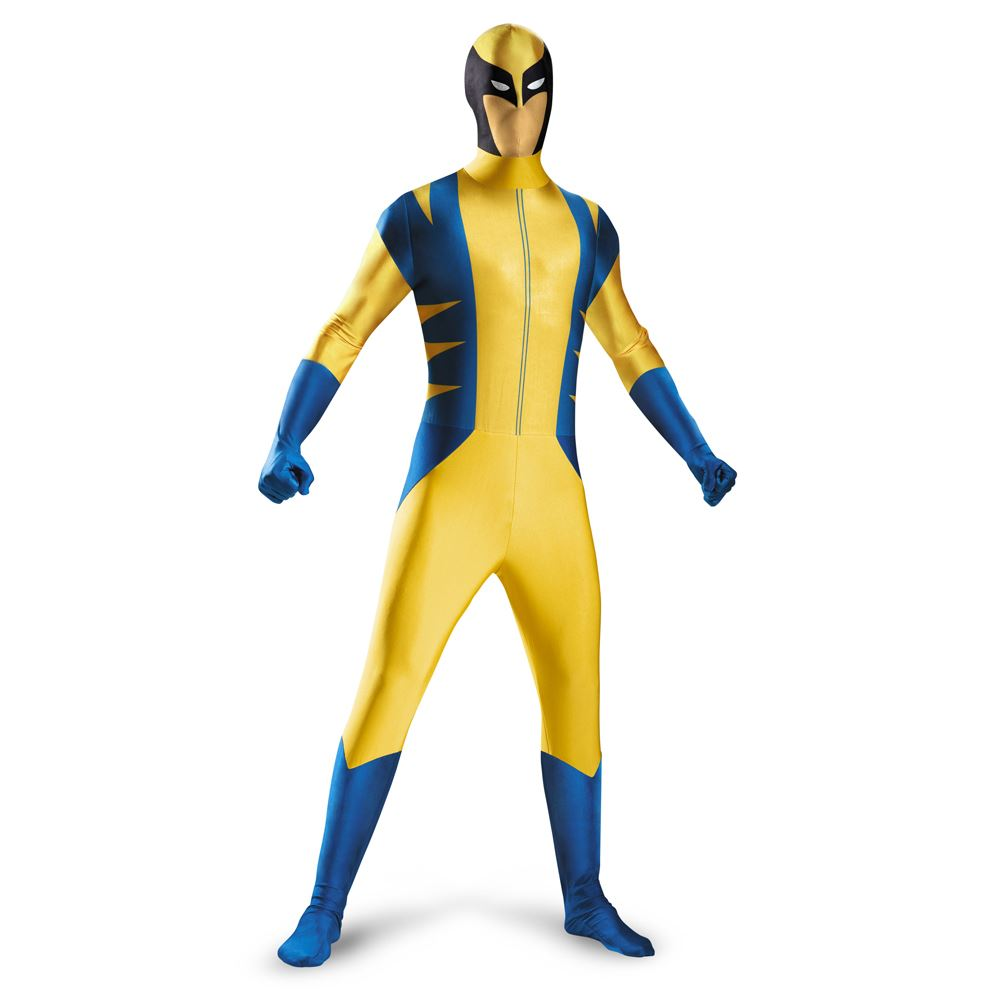 Kids Boys Wolverine Deluxe Bodysuit Costume  sc 1 st  The Costume Land & Kids Boys Wolverine Deluxe Bodysuit Costume | $45.99 | The Costume Land