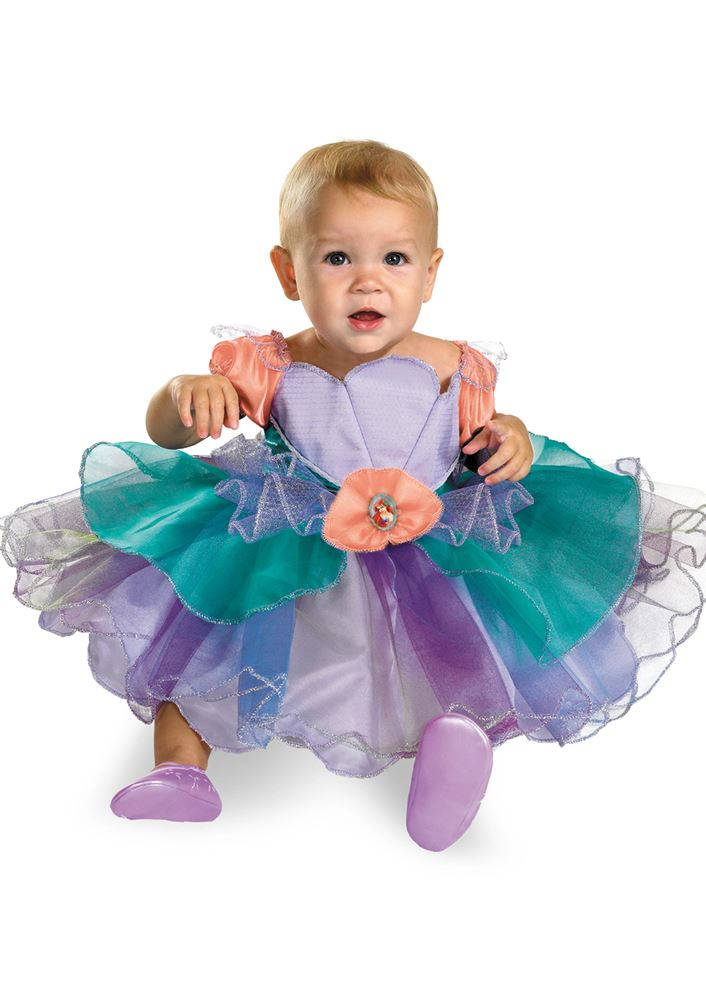 Kids Toddler Ariel Little Mermaid Costume | $17.99 | The Costume Land