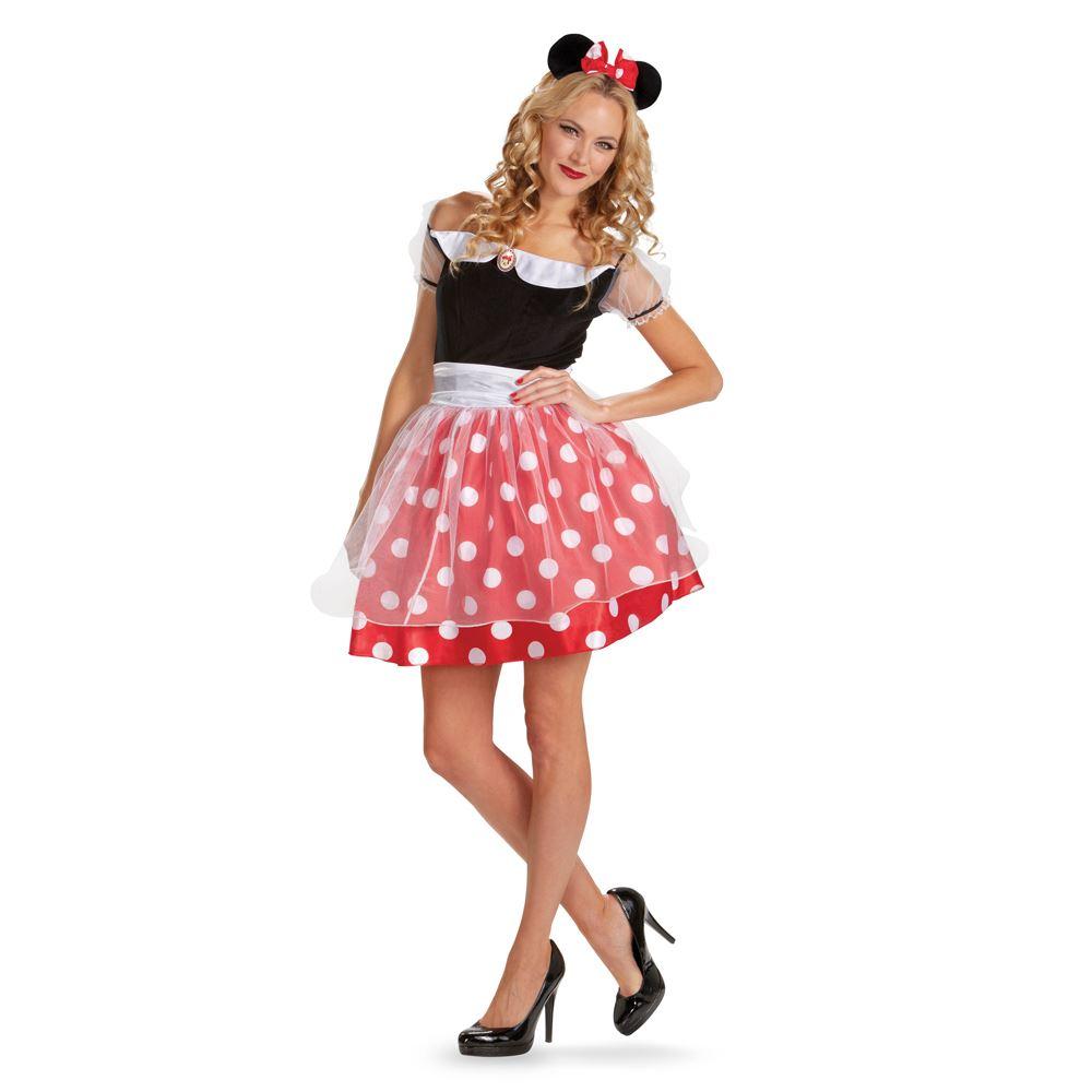 Diy Minnie Mouse Costume Women Diy minnie mouse halloween