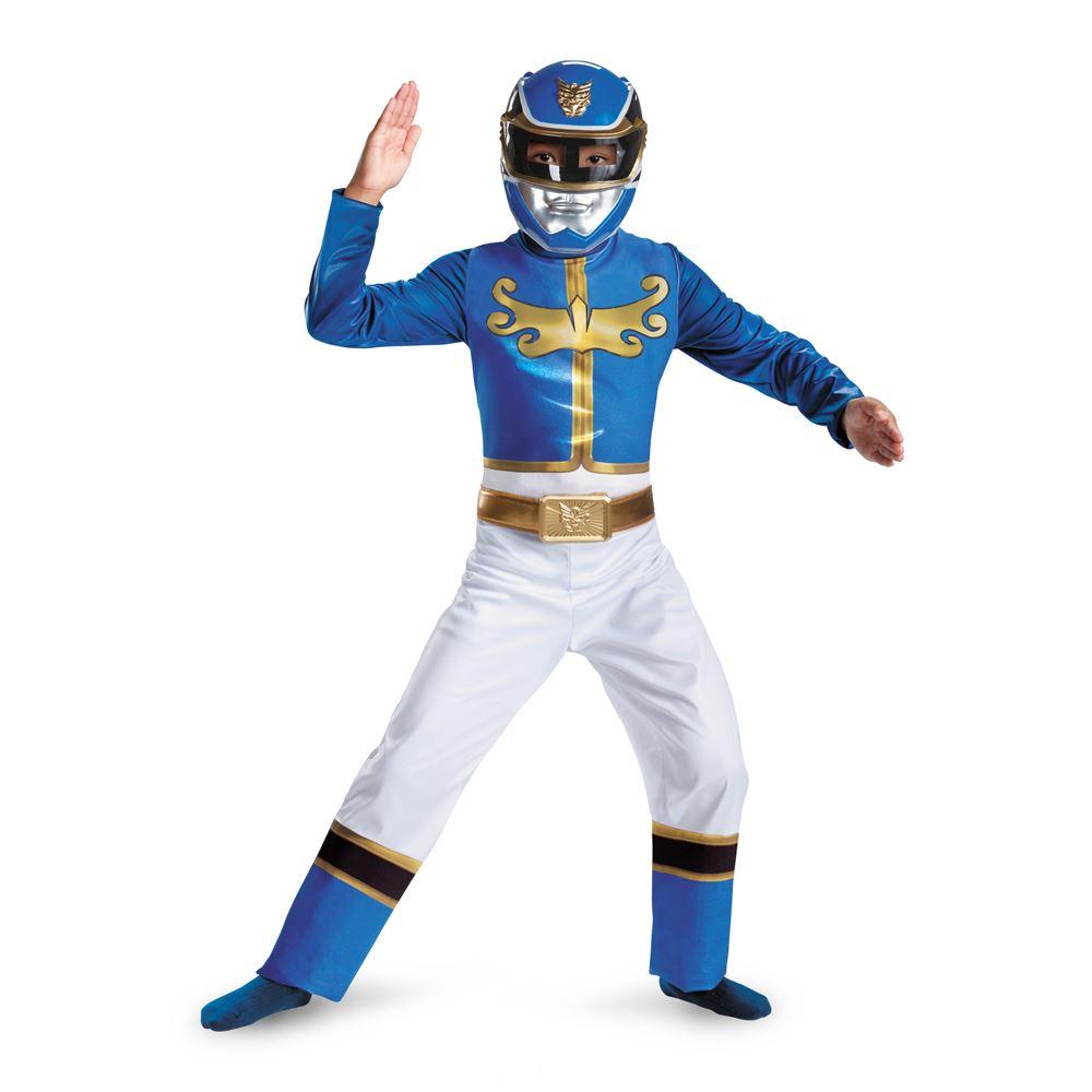 Kids Power Ranger Megaforce Boys Blue Ranger Megaforce Classic ...