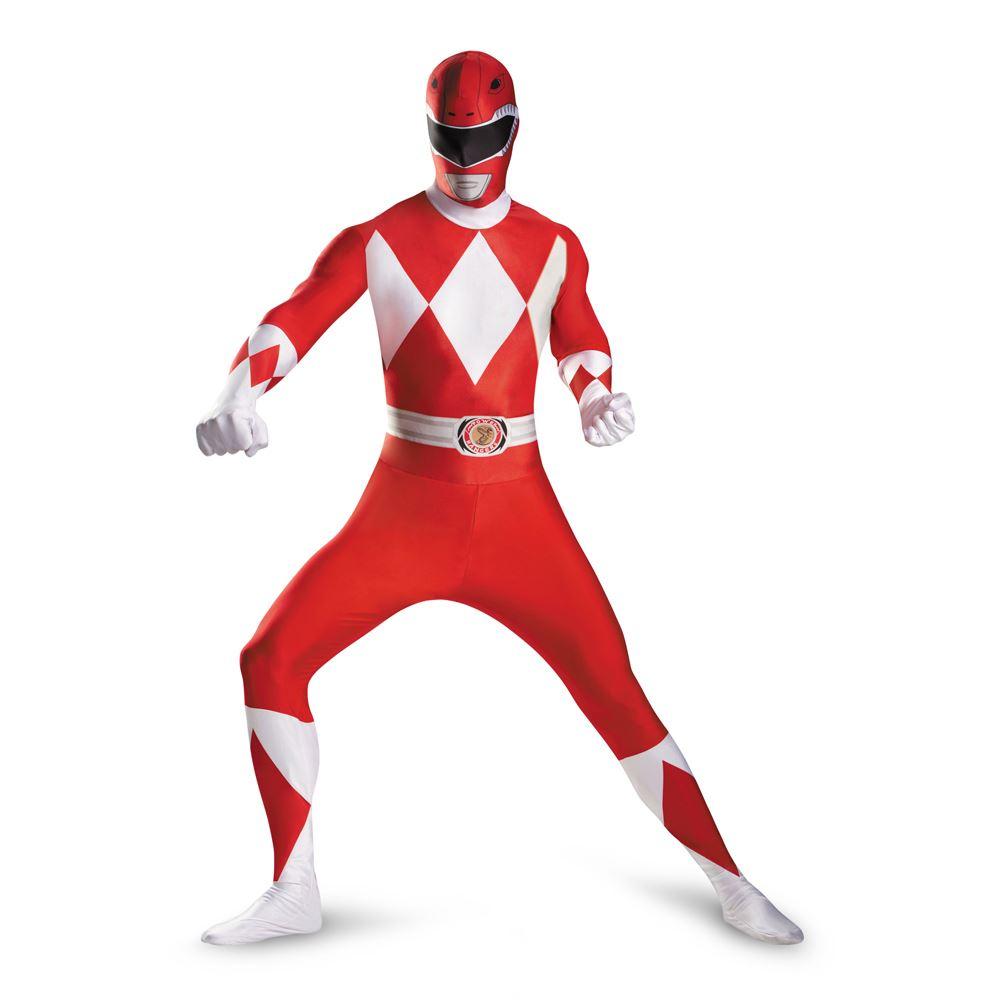 kids red power ranger boys bodysuit costume the. Black Bedroom Furniture Sets. Home Design Ideas
