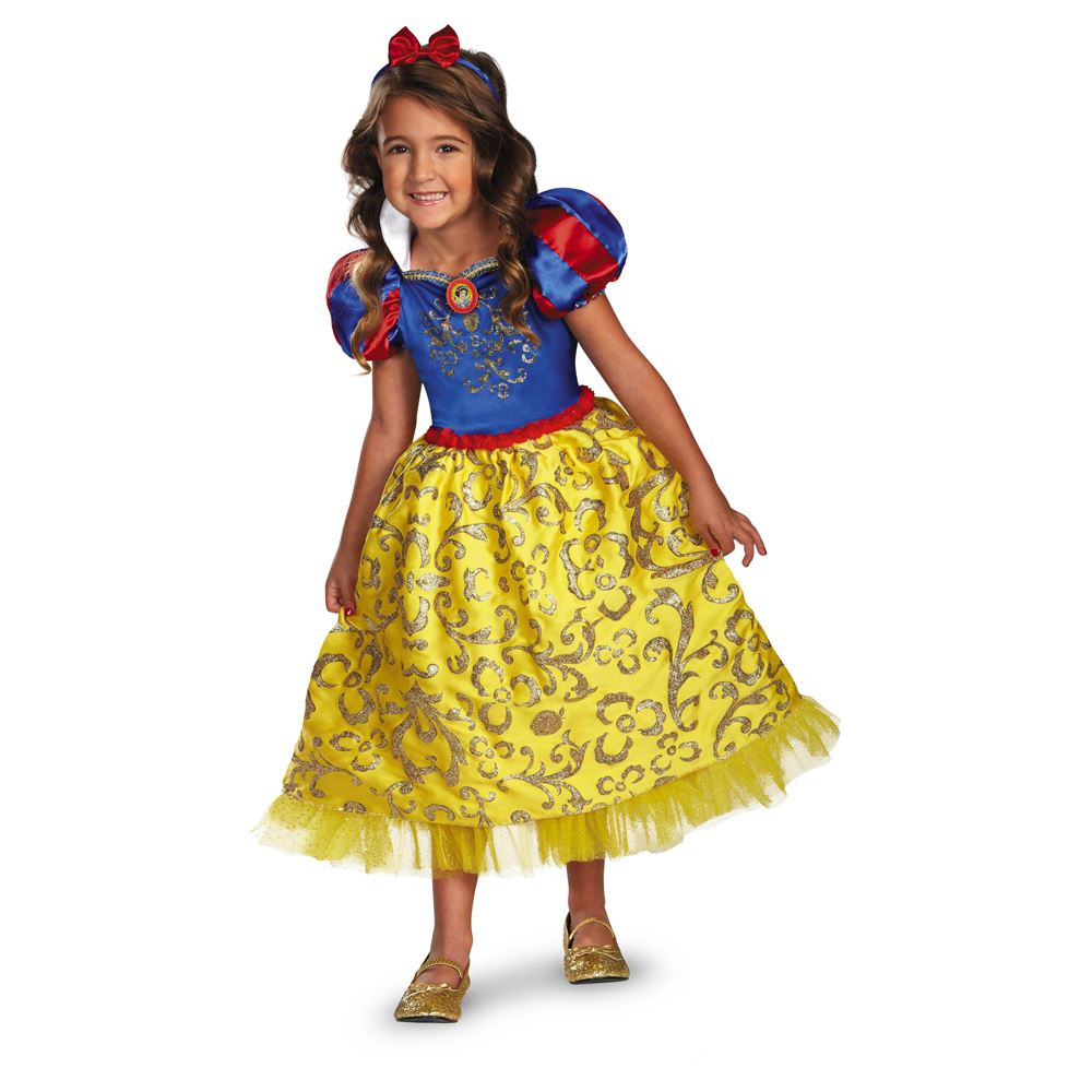 Cinderella Princess Character Dress Child 3t 4t 5 6 7: Kids Snow White Disney Princess Girls Costume