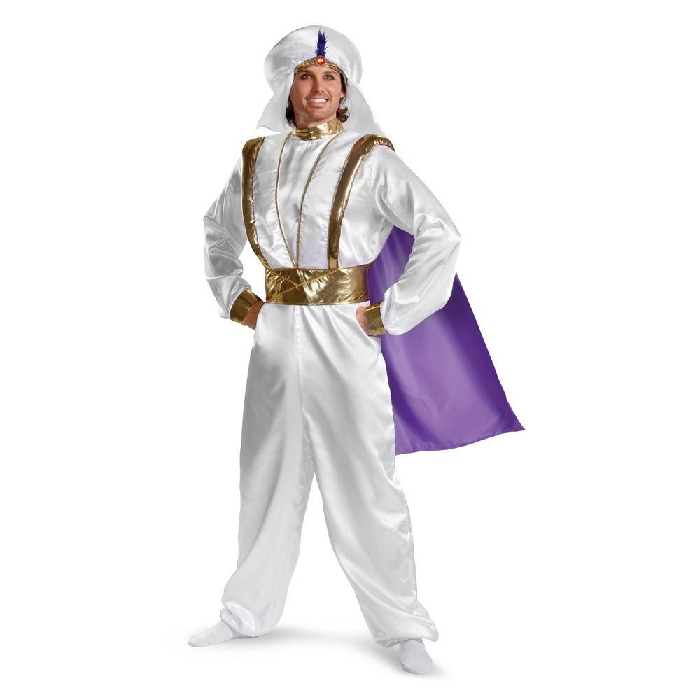 adult aladdin prestige men costume the costume land. Black Bedroom Furniture Sets. Home Design Ideas