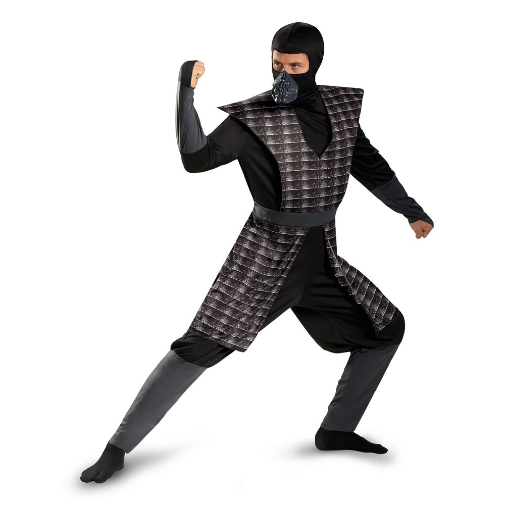 adult night fury men black evil ninja classic costume
