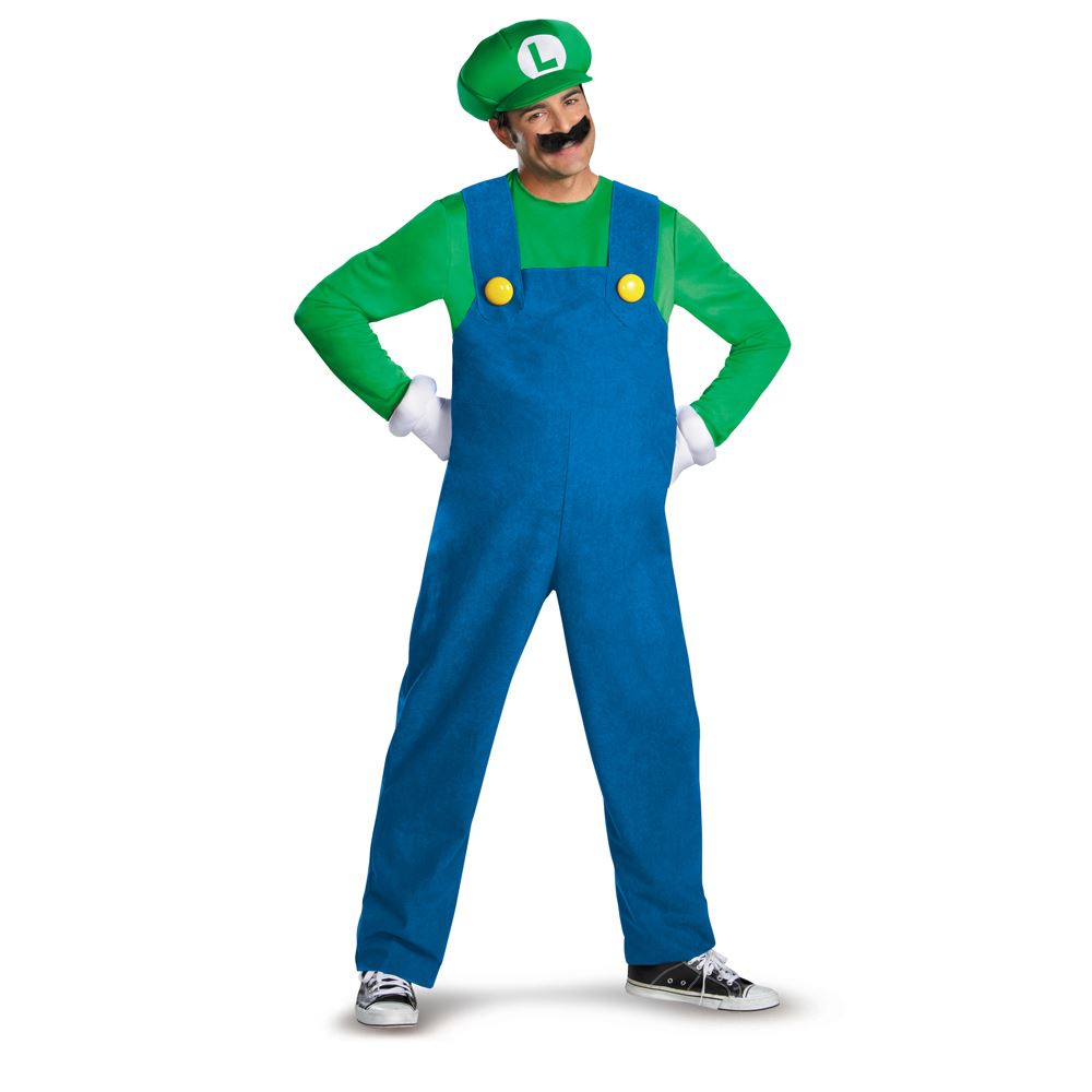 Adult Mario & Luigi Couples Costumes - Party City
