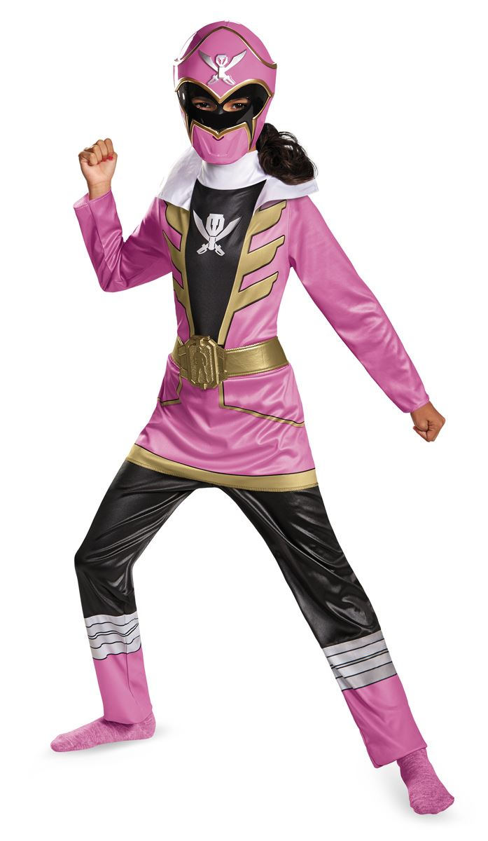 Kids Power Rangers Pink Super Girls Costume | $32.99 | The ...