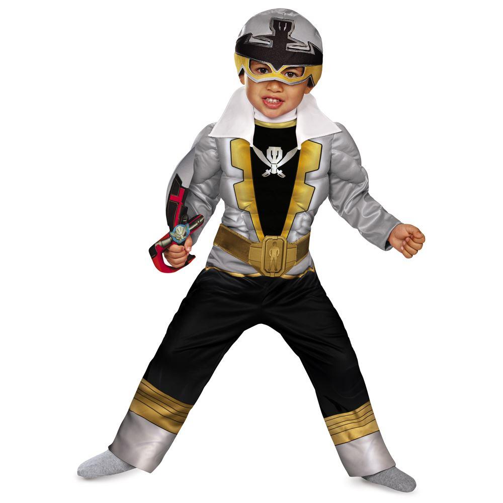 Kids Power Rangers Special Silver Ranger Super Megaforce Classic ...