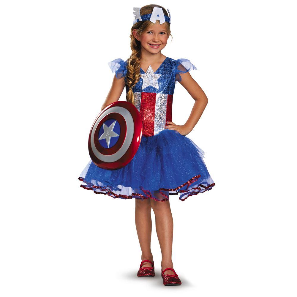 American Dream Girl Costume Marvel Girls American Dream