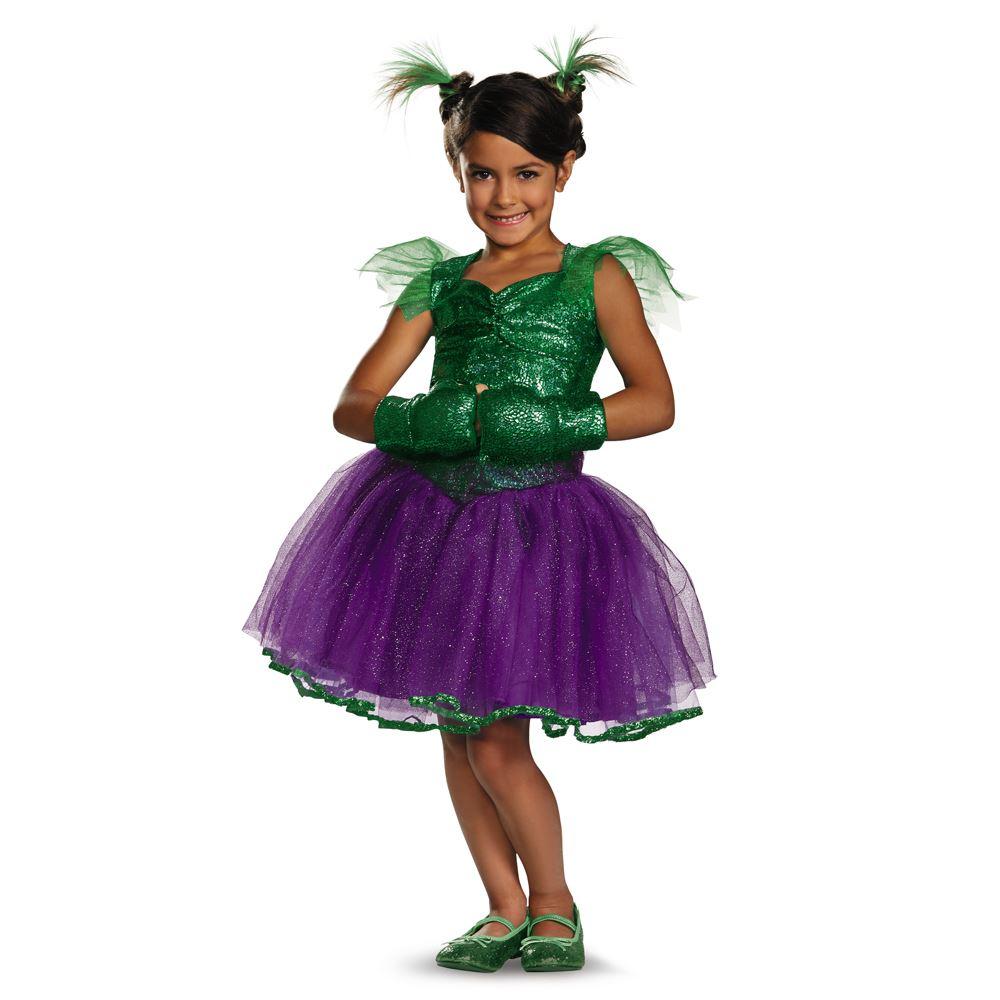 Marvel She Hulk Tutu Dress Prestige Girls Halloween Costume | $39.99 ...