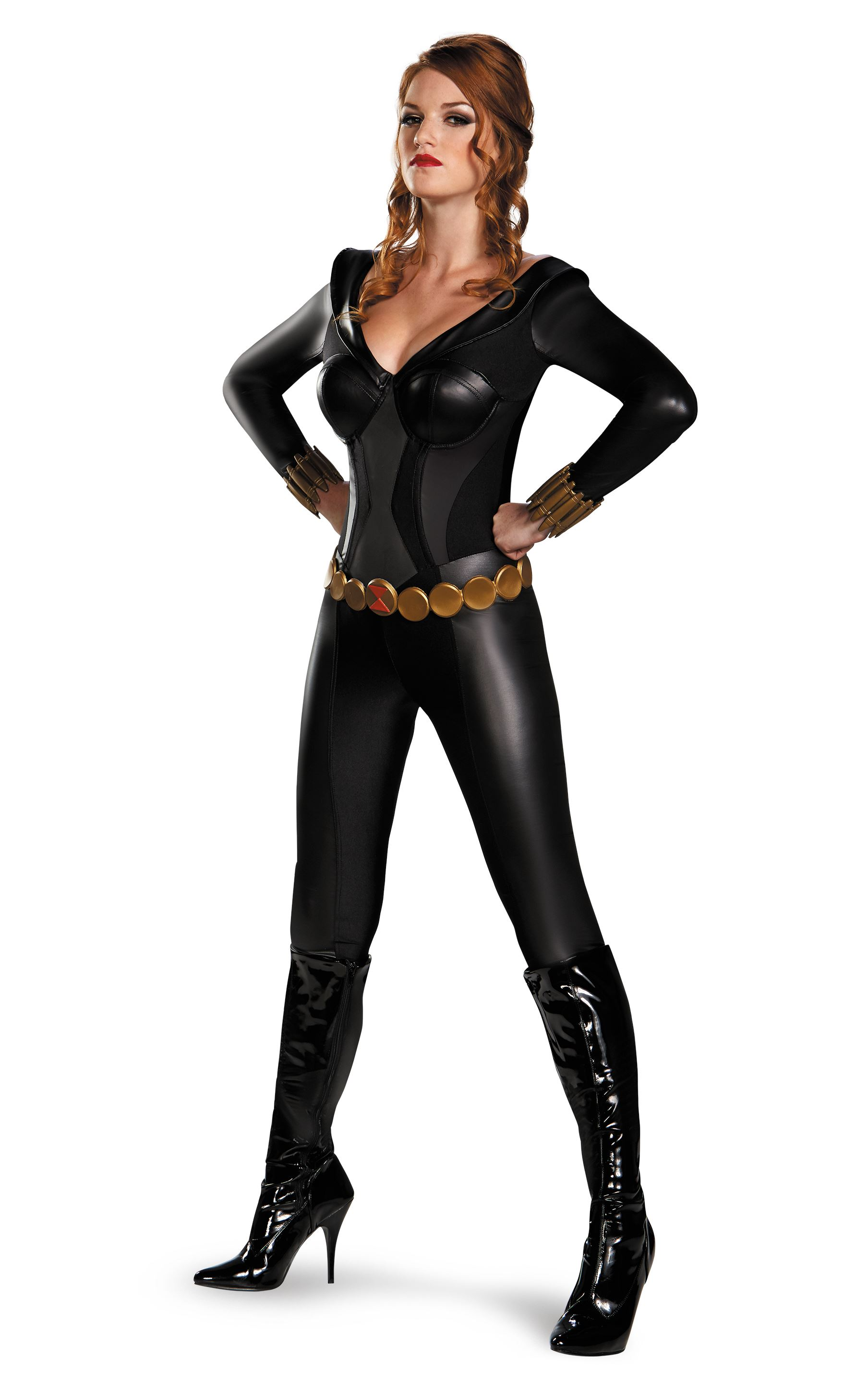 How to make a marvel black widow costume - photo#17