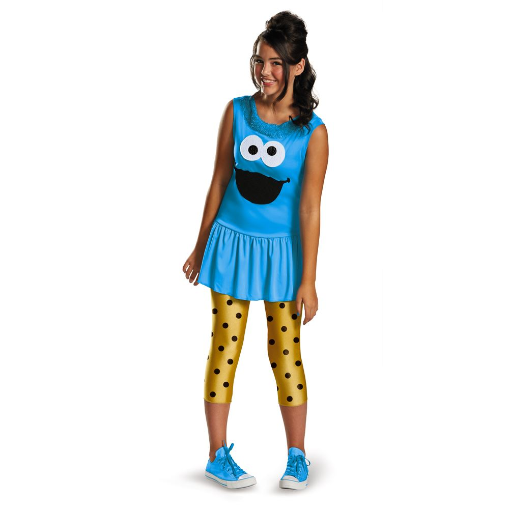 Kids Sesame Cookie Monster Girls Costume  sc 1 st  The Costume Land & Kids Sesame Cookie Monster Girls Costume | $19.99 | The Costume Land