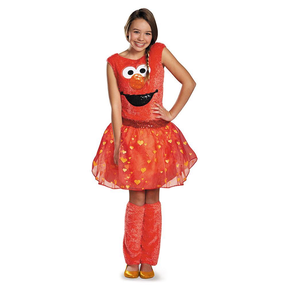 kids sesame street elmo girls costume
