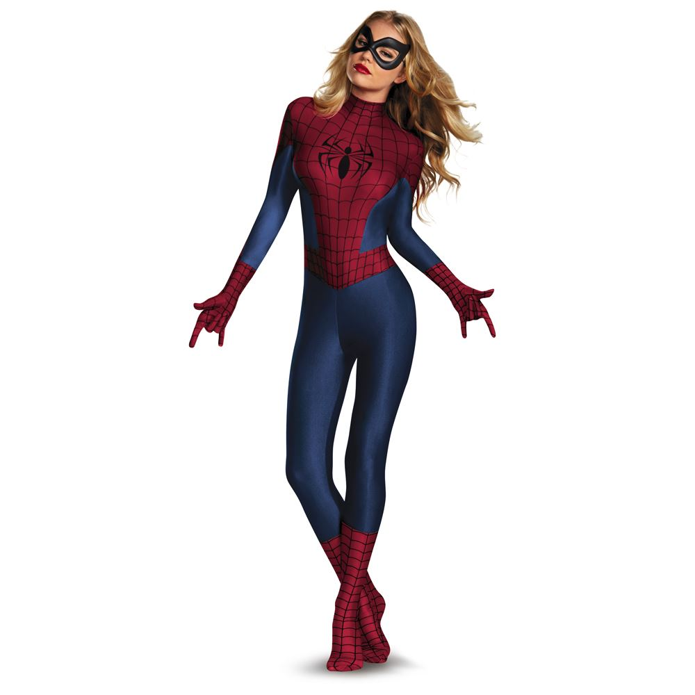 Amazing Spider Man Sassy Bodysuit Woman Halloween Costume | $59.99 ...