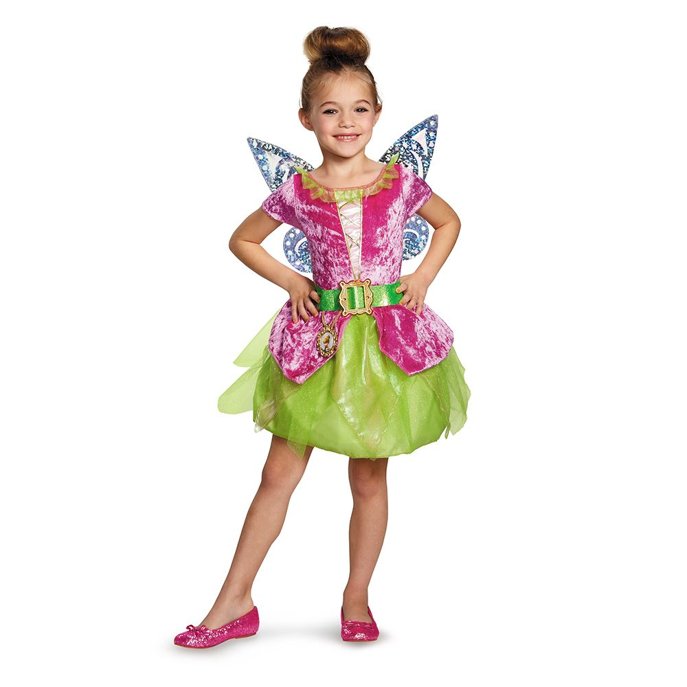 Kids Disney Fairy Tikerbell Girls Costume  sc 1 st  The Costume Land & Kids Disney Fairy Tikerbell Girls Costume   $19.79   The Costume Land
