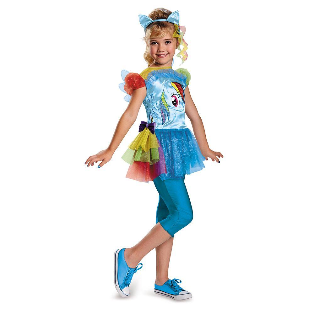 Kids Rainbow Dash Girls Costume | $37.99 | The Costume Land