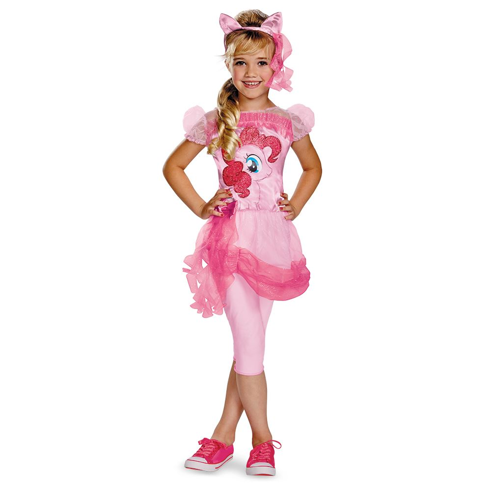Kids Little Pony Pinkie Pie Girls Costume