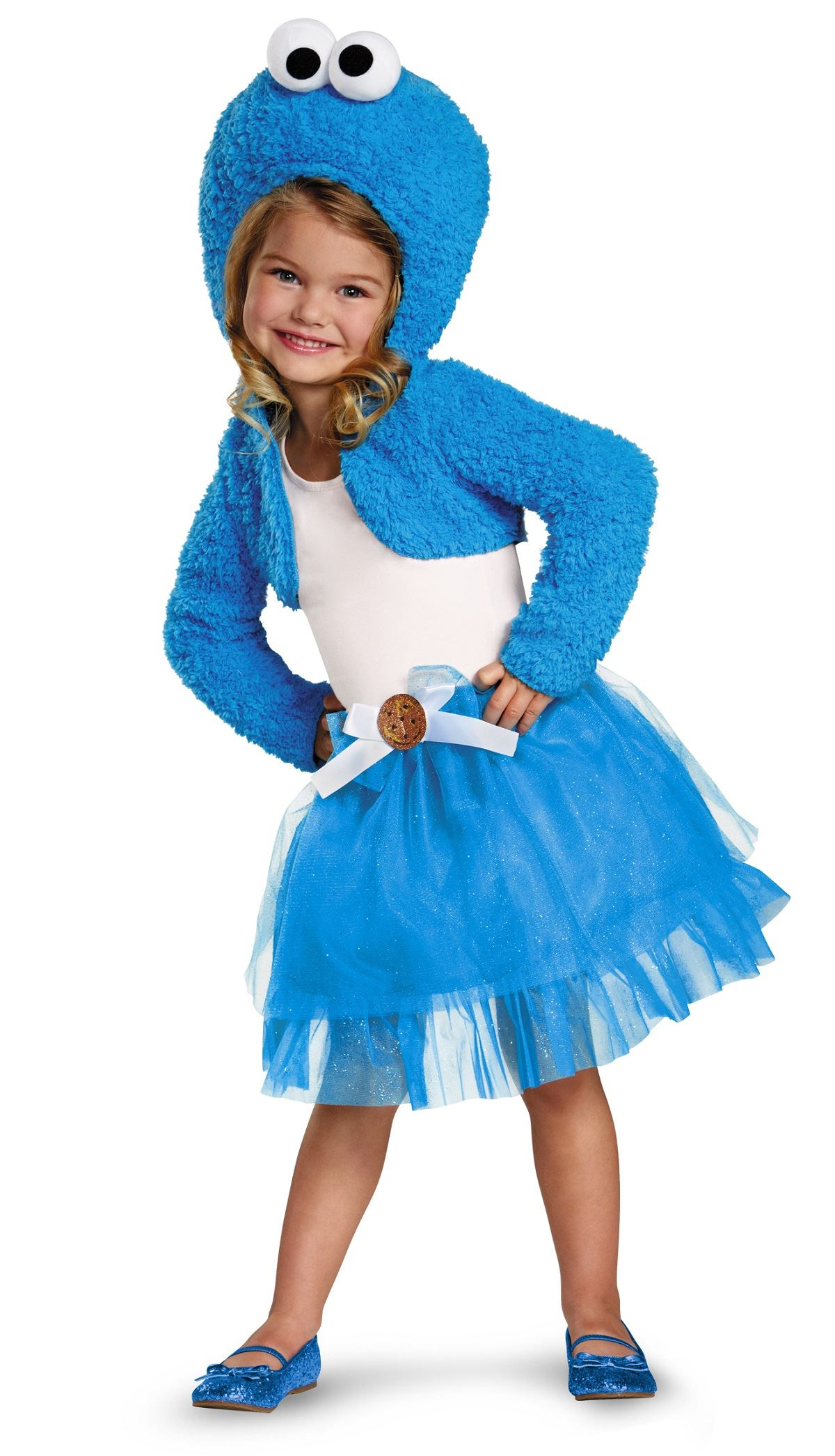 baf754f1afa3 ... Kids Cookie Monster Girls Costume. Click here to view Large Image
