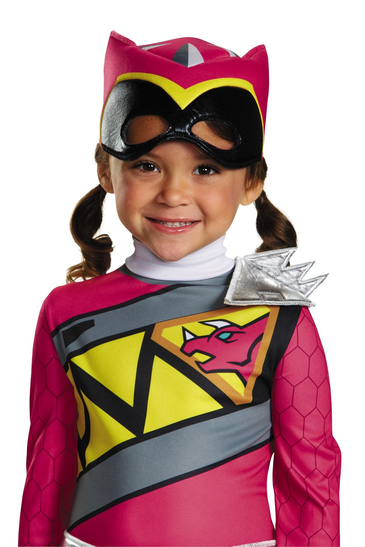 Kids Pink Power Ranger Dino Charge Costume | $15.99 | The Costume Land