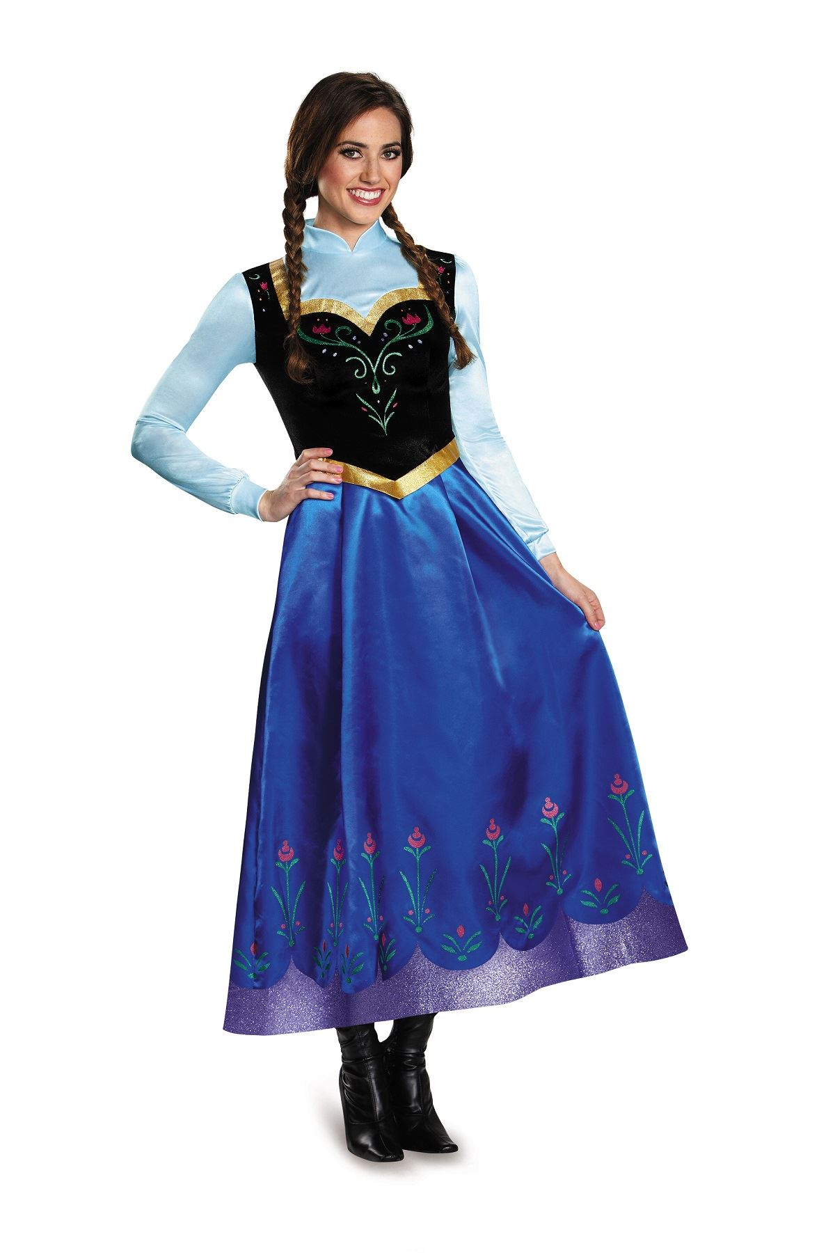 Adult Anna Travelling Disney Princess Woman Costume | $141 ...
