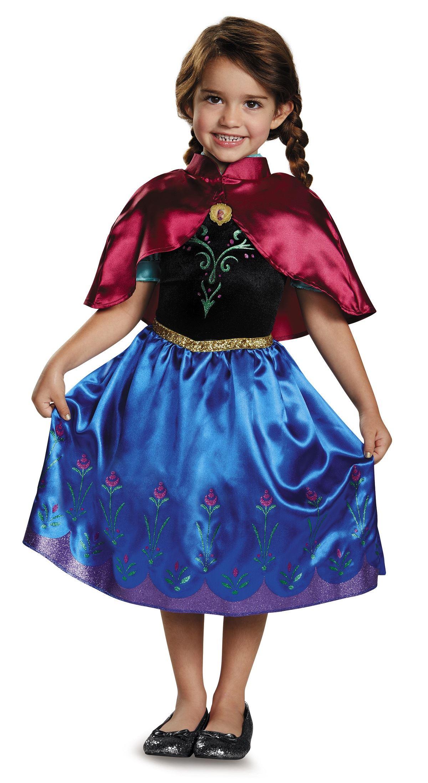 Kids Anna Travelling Girls Princess Costume ...  sc 1 st  The Costume Land & Kids Anna Travelling Girls Princess Costume | $24.99 | The Costume Land