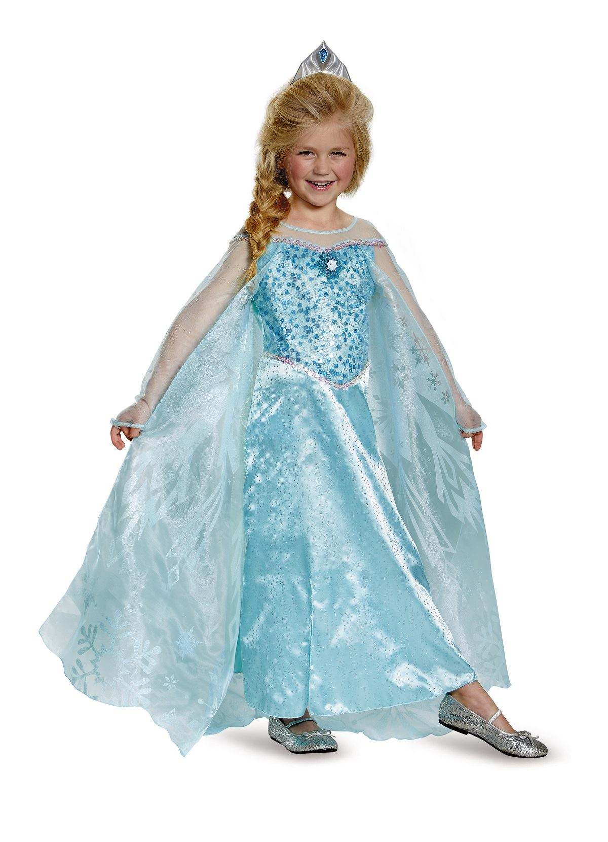 Kids Elsa Frozen Disney Princess Girls Costume | $79.99 | The ...