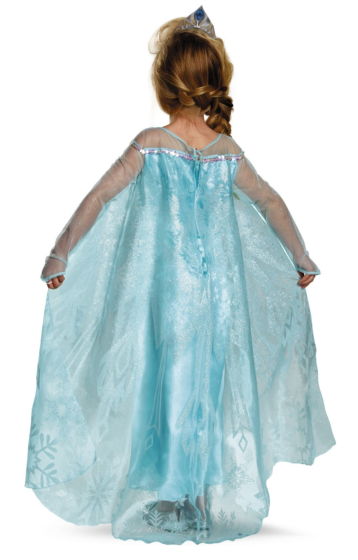UPDATE: If you've made a Frozen costume, we'd love to see it! You can add your photo in the comments. It's no secret that my little princesses have me completely wrapped around their little fingers. I don't mind obliging for certain things, and Frozen costumes are certainly one of those.