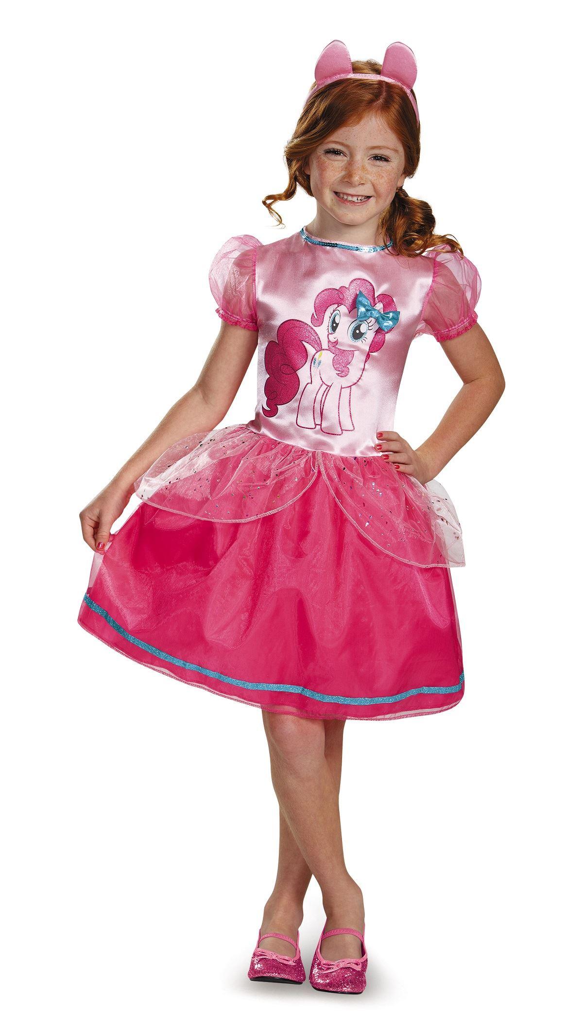 Pinkie Pie Girls My Little Pony Halloween Costume | $27.99 ...