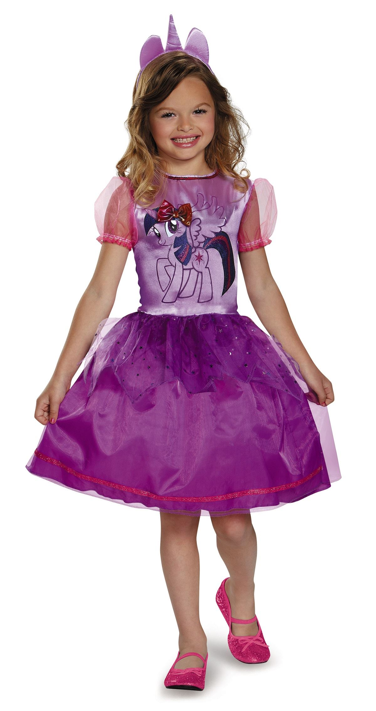 Twilight Sparkle My Little Pony Girls Halloween Costume ...