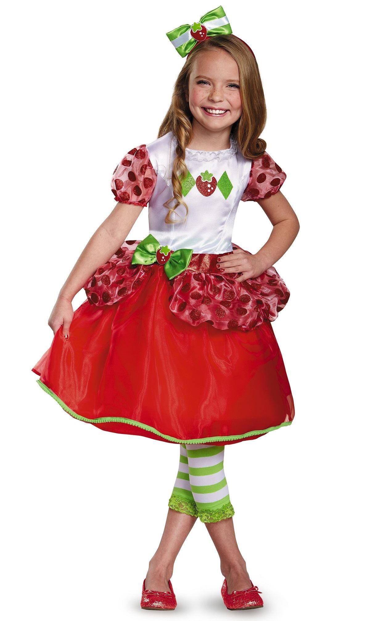 Kids Strawberry Shortcake Girls Costume  c1221c166bfa