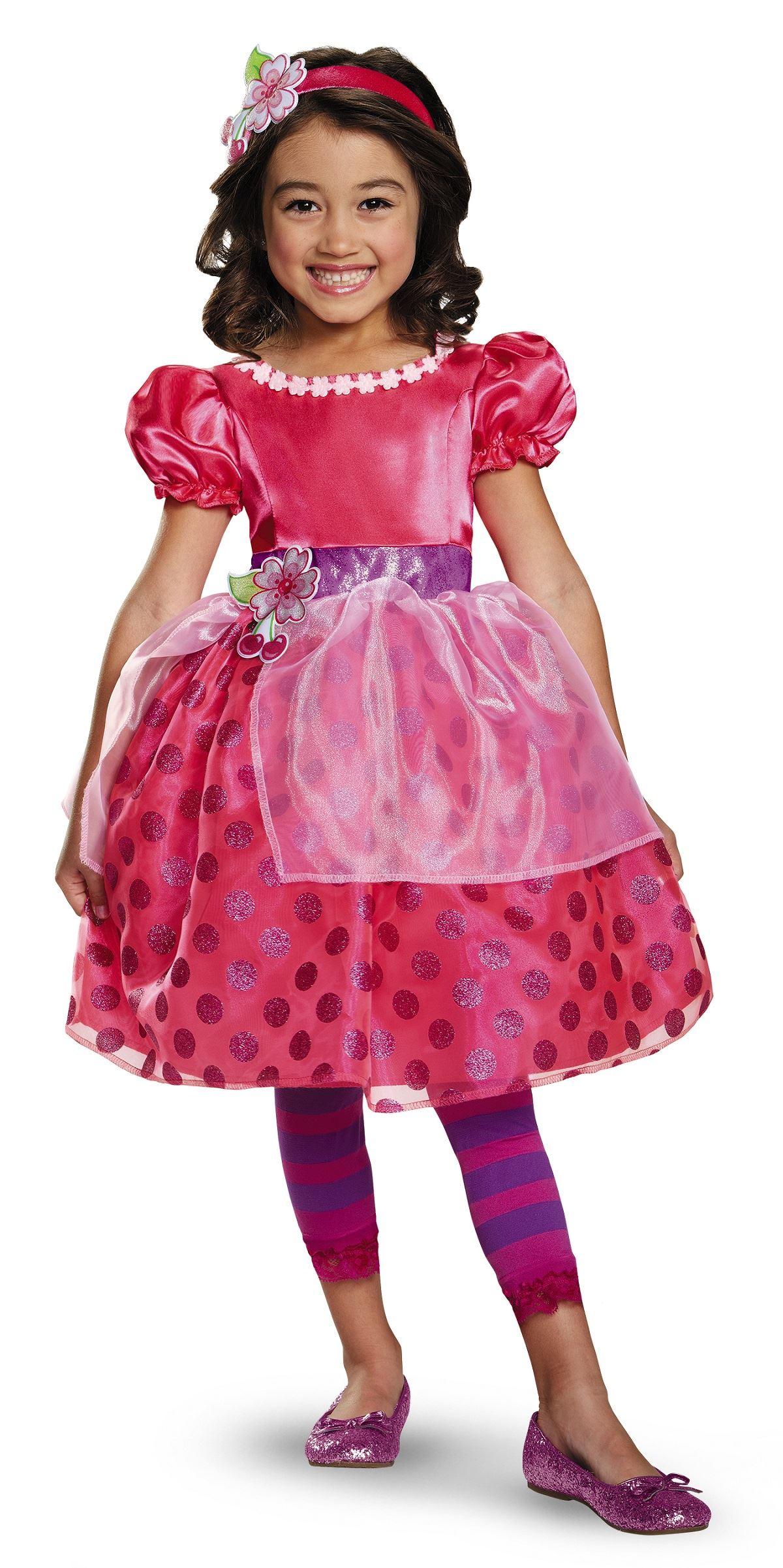 Kids Cherry Jam Strawberry Shortcake Costume