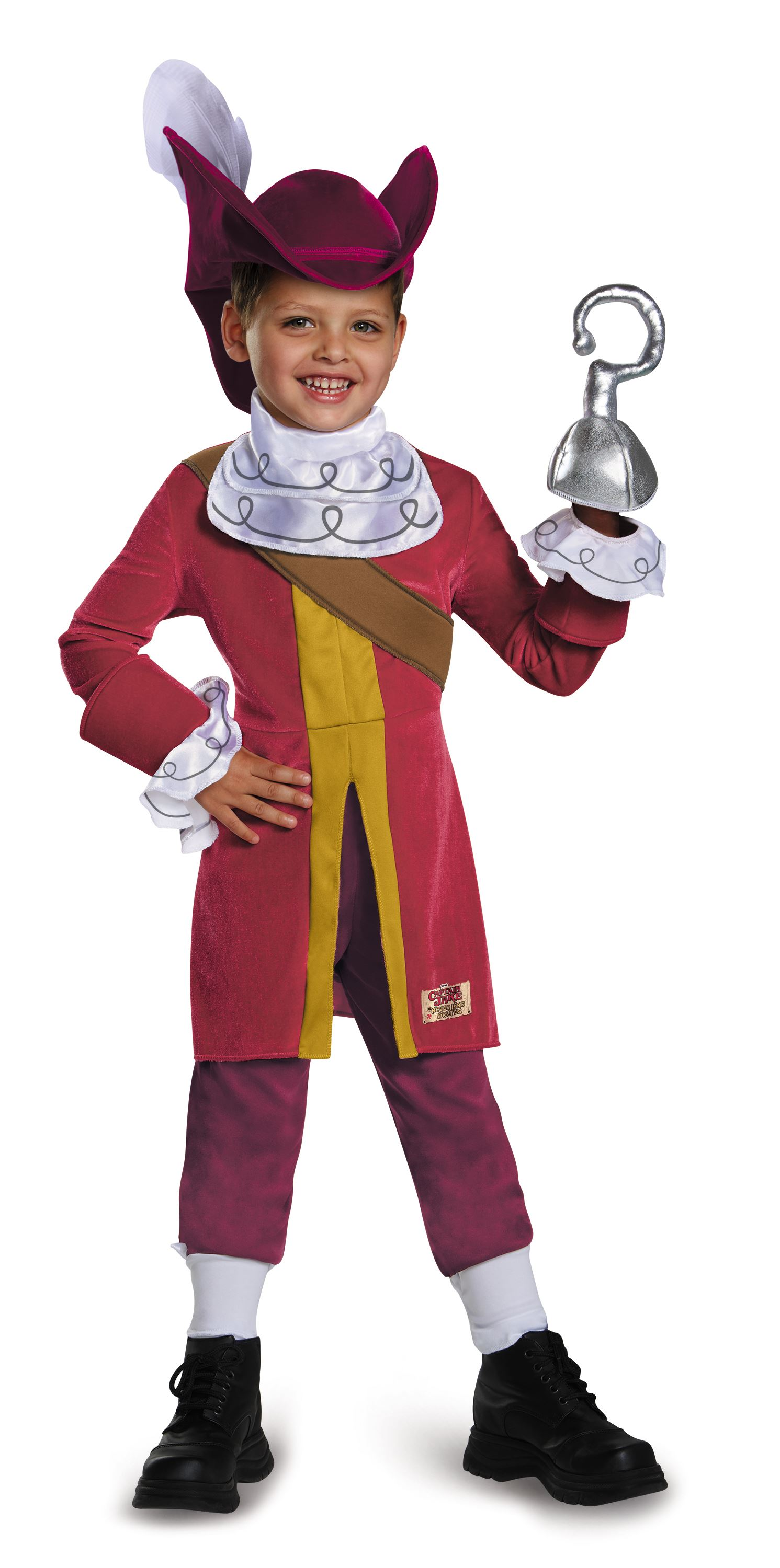 Kids Captain Hook Boys Costume  sc 1 st  The Costume Land & Kids Captain Hook Boys Costume | $38.99 | The Costume Land