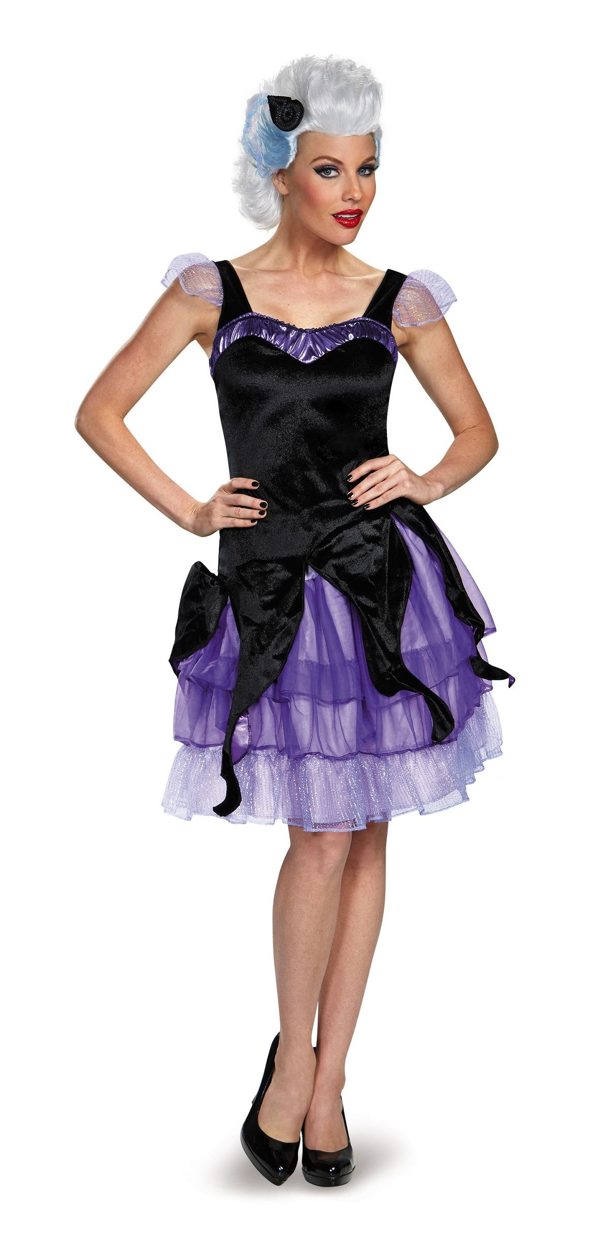 adult ursula disney woman deluxe costume the costume land. Black Bedroom Furniture Sets. Home Design Ideas