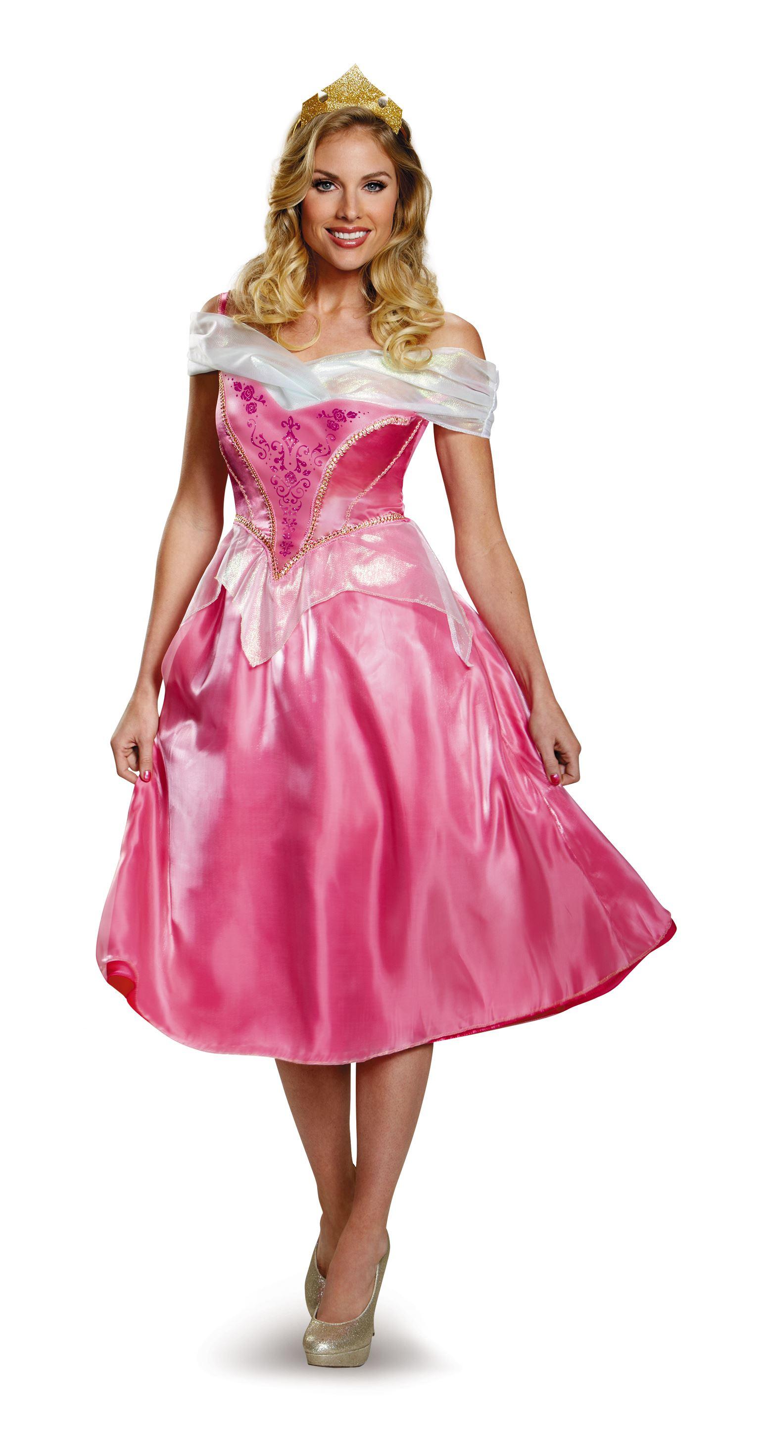 Aurora disney princess adult halloween costume the costume land - Costume princesse disney adulte ...