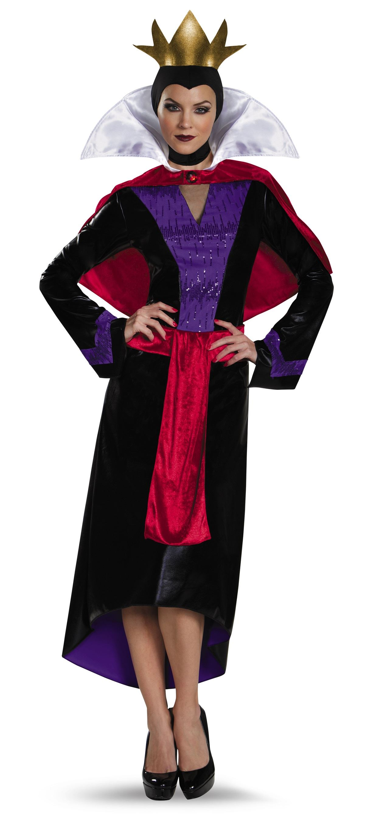 Adult Evil Queen Disney Villain Woman Costume