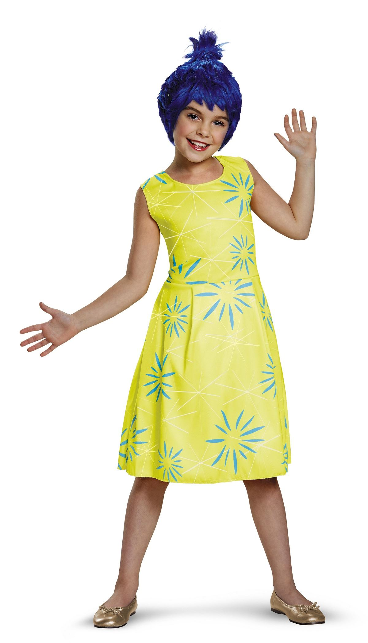 Kids Inside Out Joy Girls Costume 25 99 The Costume Land