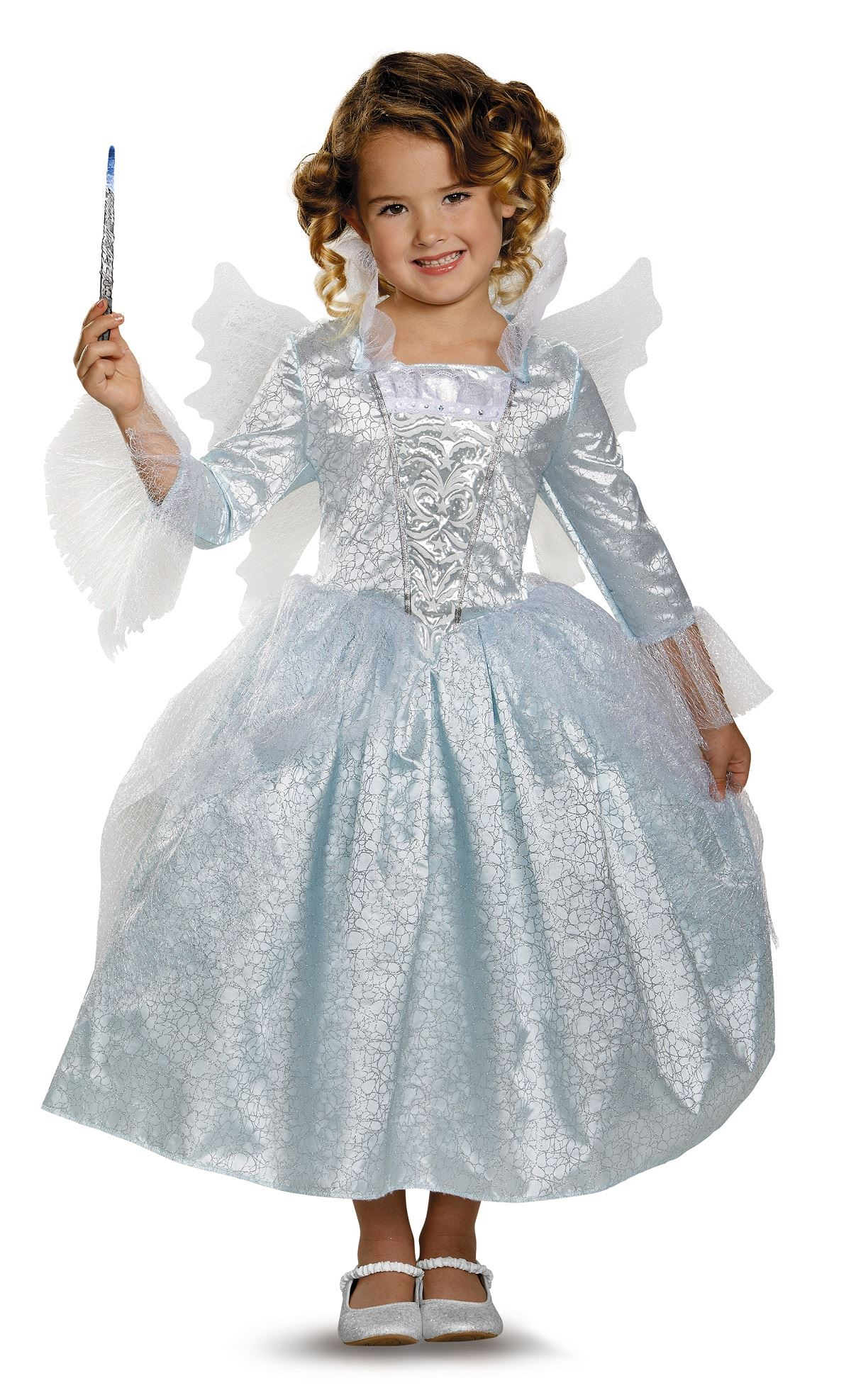 Kids Fairy Godmother Cinderella Girls Costume ...  sc 1 st  The Costume Land & Kids Fairy Godmother Cinderella Girls Costume | $41.99 | The Costume ...