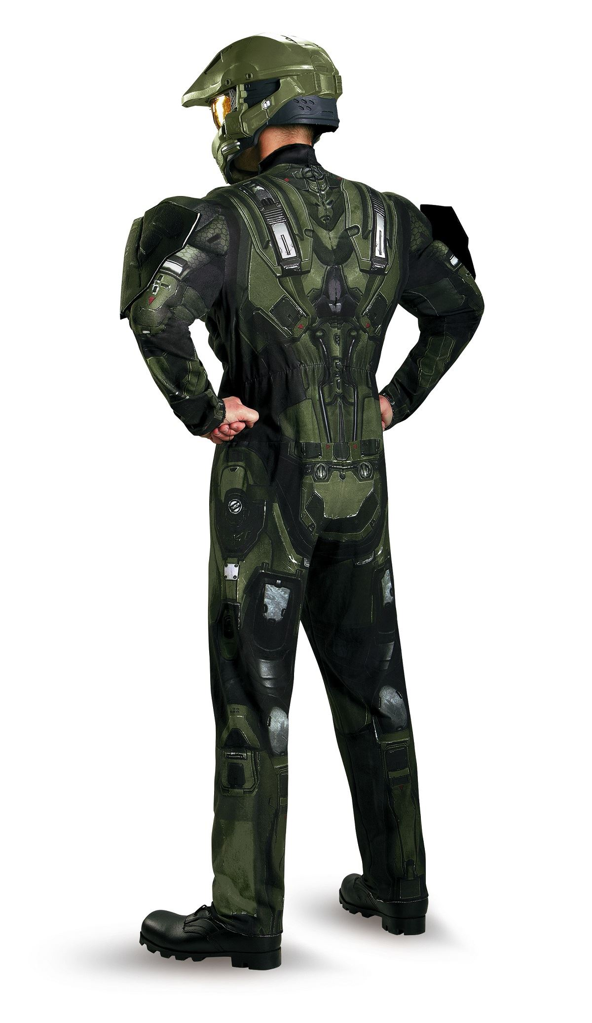 Adult Halo Master Chief Men Deluxe Costume   $61.99   The ...