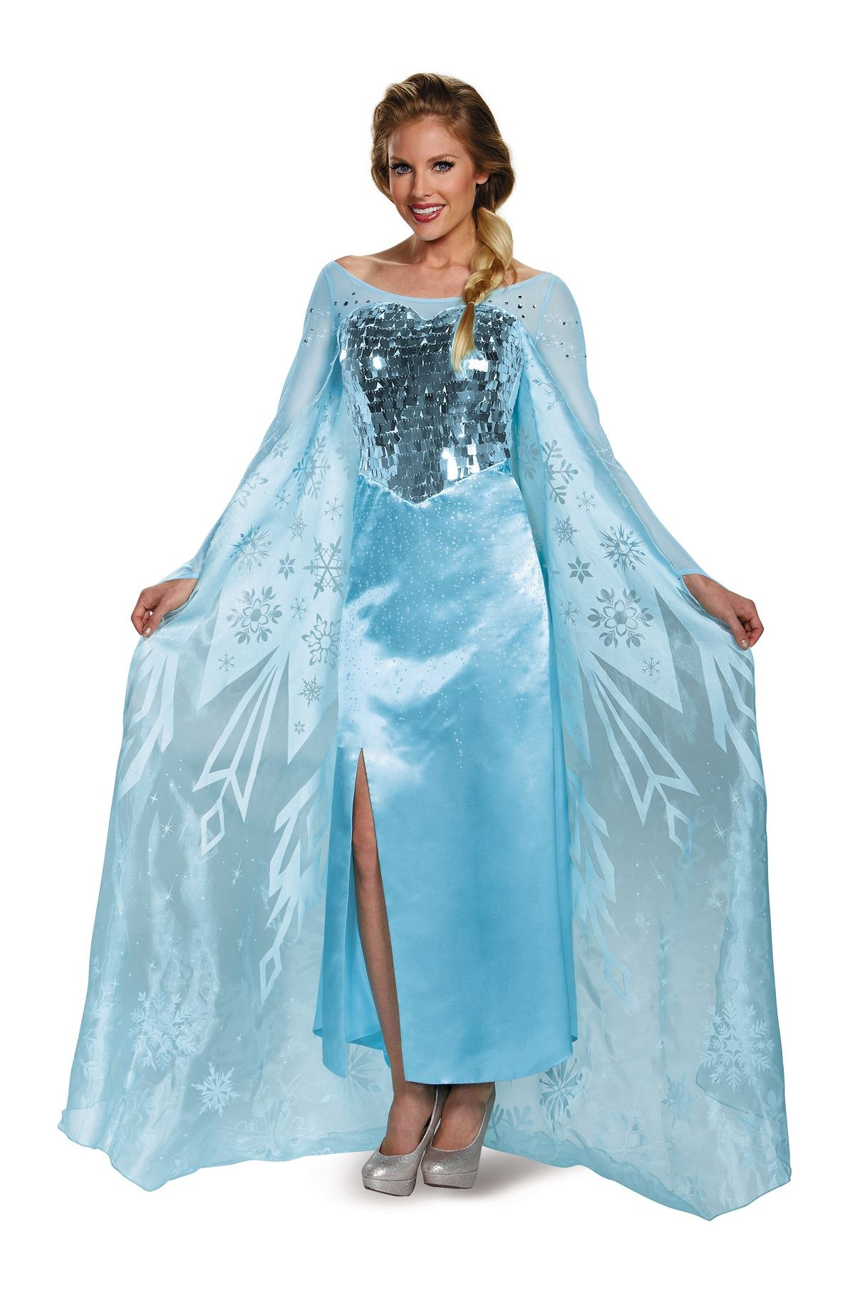An Elsa Halloween costume How to Dress Like Elsa From 'Frozen' in 6 Easy Steps, Because It Looks Like You're The Queen Of Halloween. By Julia Friedman. Oct 3 Disney.