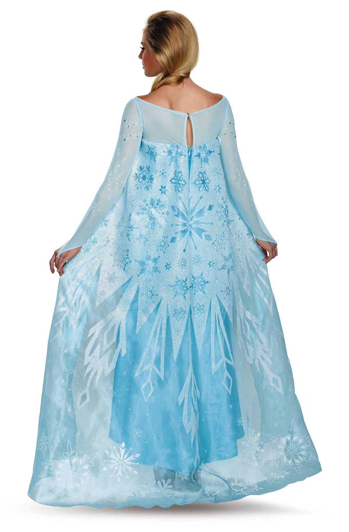 Adult elsa disney princess woman costume the - Costume princesse disney adulte ...