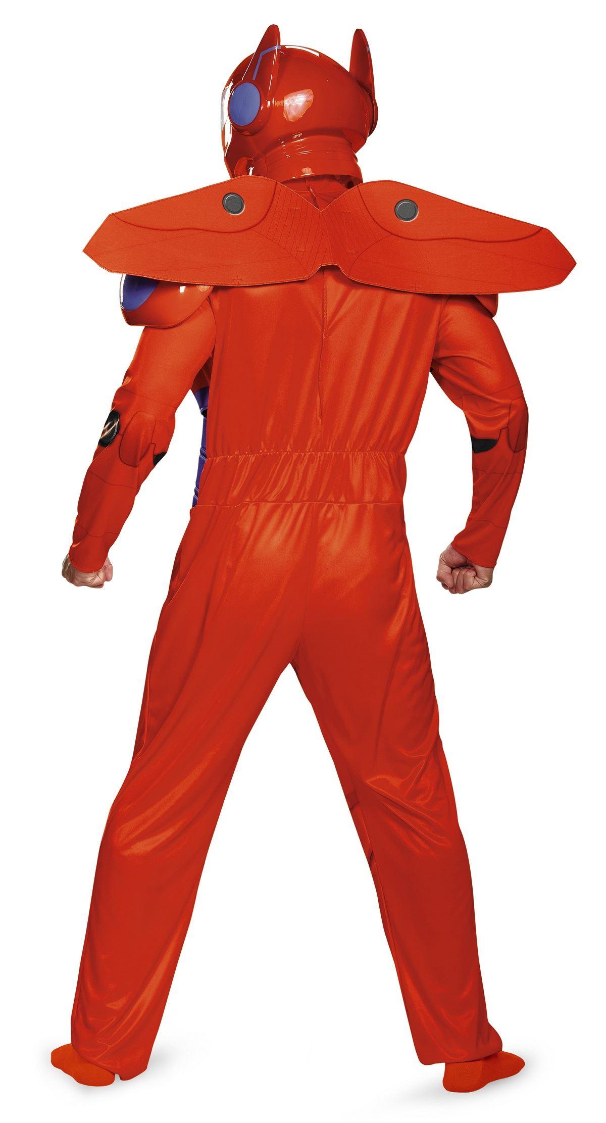 cbc6996adf0c ... Adult Red Baymax Big Hero 6 Men Deluxe Costume