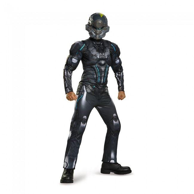 Kids Spartan Halo Locke Boys Muscle Costume ...  sc 1 st  The Costume Land & Kids Spartan Halo Locke Boys Muscle Costume | $32.99 | The Costume Land