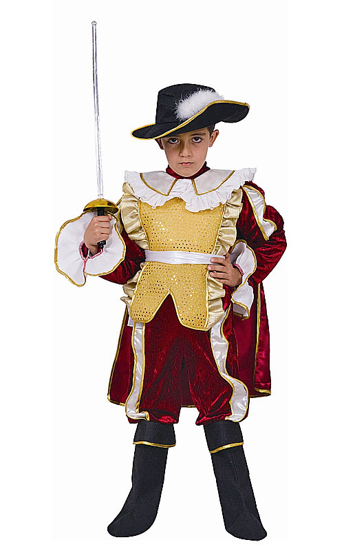 Kids Red Noble Knight Boys Costume 54 99 The Costume Land