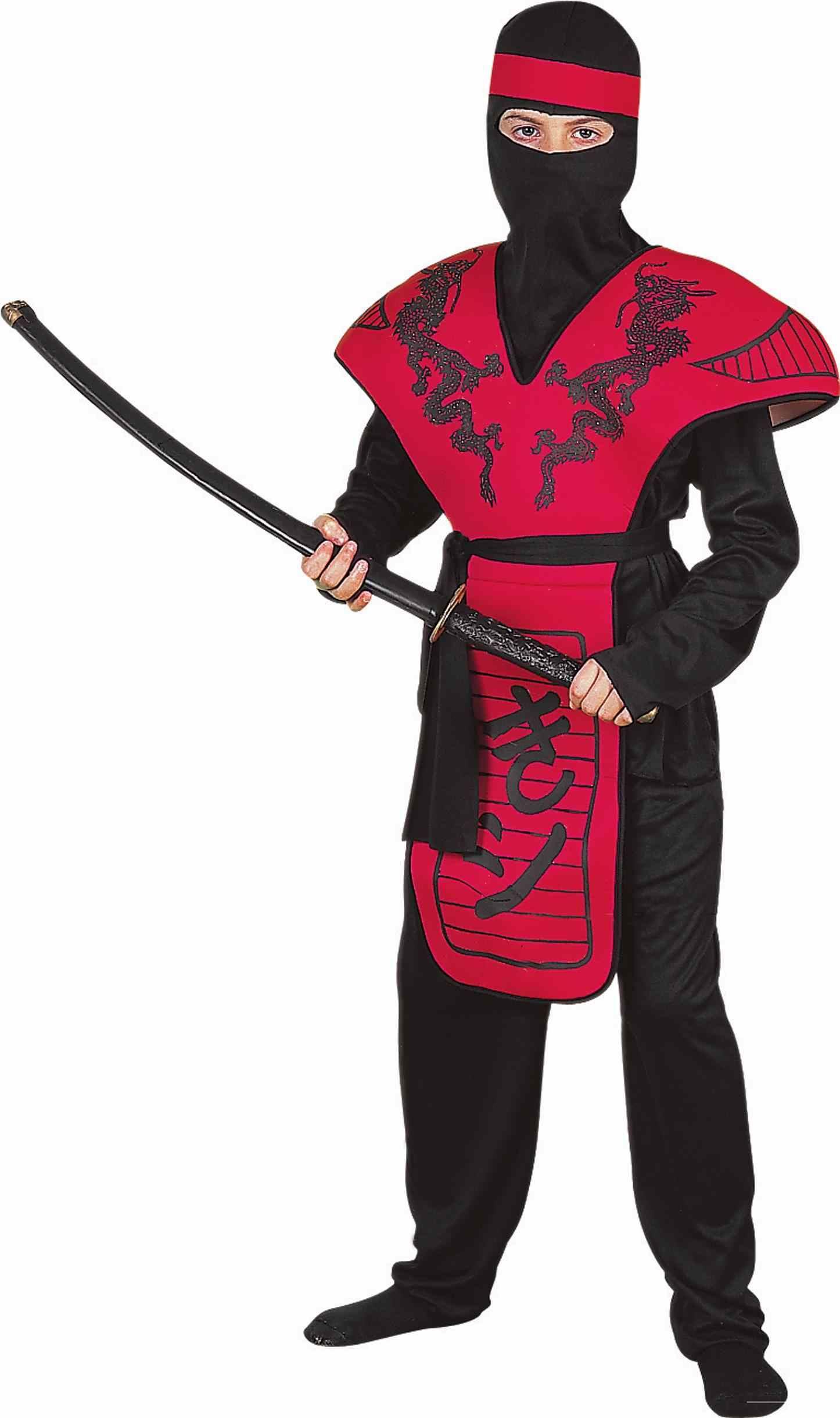 Kids Dragon Ninja Warrior Boys Costume | $29.99 | The Costume Land